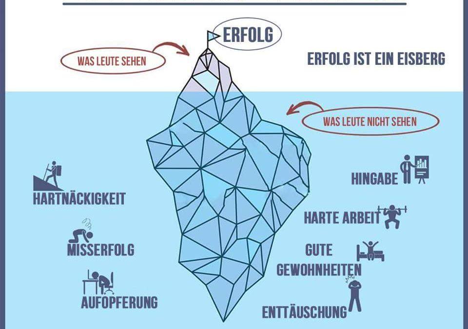 Das Eisberg Modell für mehr Erfolg
