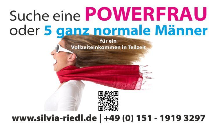 Suche eine Powerfrau