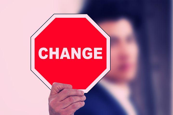Es ist Zeit für eine Veränderung